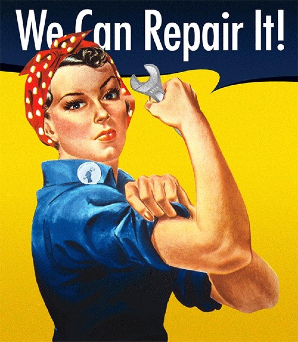 repair-woman
